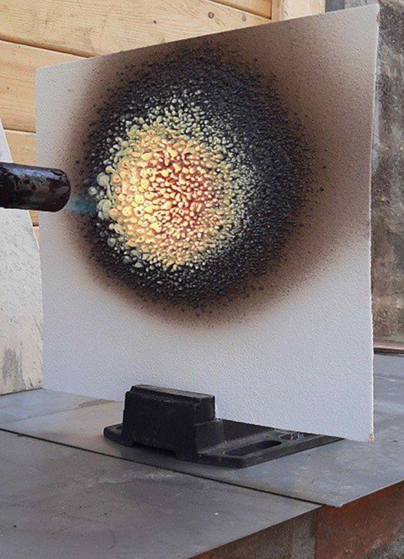 Cơ chế trương phồng của sơn chống cháy cho kết cấu thép và bê tông khi phản ứng với nhiệt độ cao