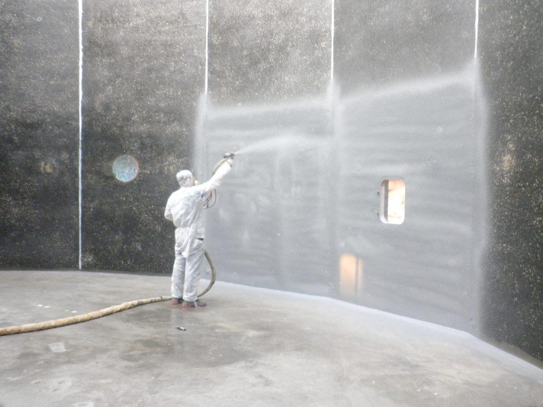 phun phủ polyurea được áp dụng tại Singapore